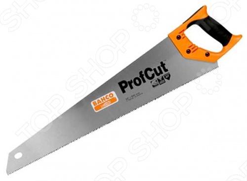 Ножовка BAHCO Medium предназначена для пиления древесины средней толщины. Закаленные зубья GT-геометрии с 3-сторонней заточкой обеспечивают высокую скорость пиления и долговечность. Двухкомпонентная рукоятка позволяет размечать углы в 45 и 90 градусов.