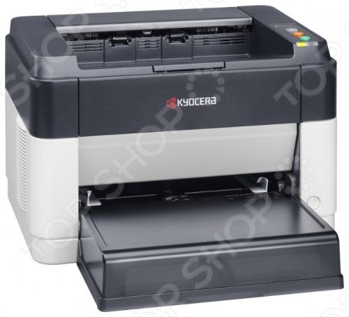 Принтер Kyocera FS-1060DN kyocera овощечистка perfect peeler с поворотным устройством черная cp 20 bk kyocera