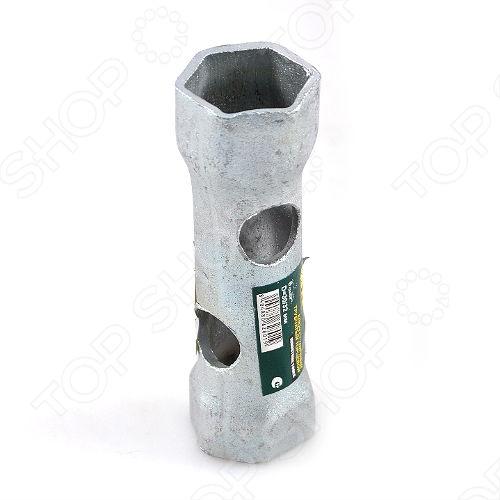 Ключ трубчатый торцевой ступичный 6-гранный двухсторонний качественный и надежный ручной инструмент. Предназначен для монтажа и демонтажа ступичных гаек. Изготовлен из инструментальной стали, что повышает его прочность и продлевает срок службы.