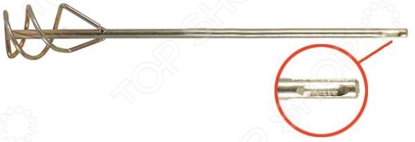 Миксер для строительных смесей FIT Профи представляет собой сменную комплектующую для перфораторов, предназначенную для тщательного и удобного перемешивания строительных растворов. Он станет отличным дополнением к набору ваших инструментов и пригодится при проведении ремонтных, строительных и отделочных работ. Изделие изготовлено из высококачественной инструментальной стали с цинковым покрытием и снабжено хвостовиком SDS PLUS.