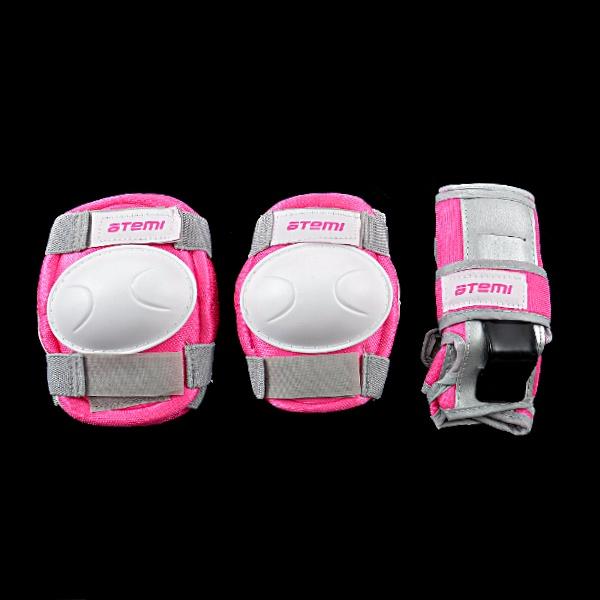 Набор защиты роликовый детский ATEMI ASGK-03 Neon