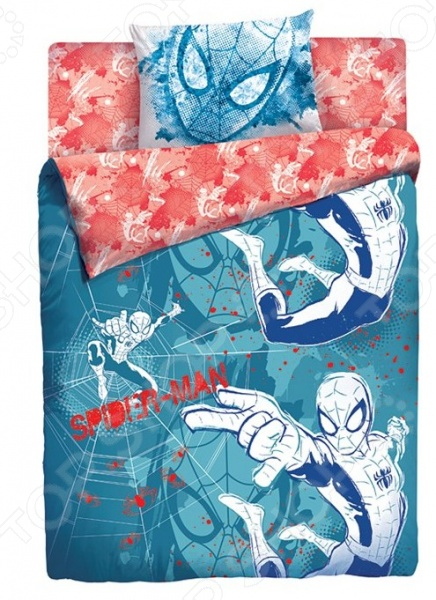 Детский комплект постельного белья MARVEL «Человек-паук»