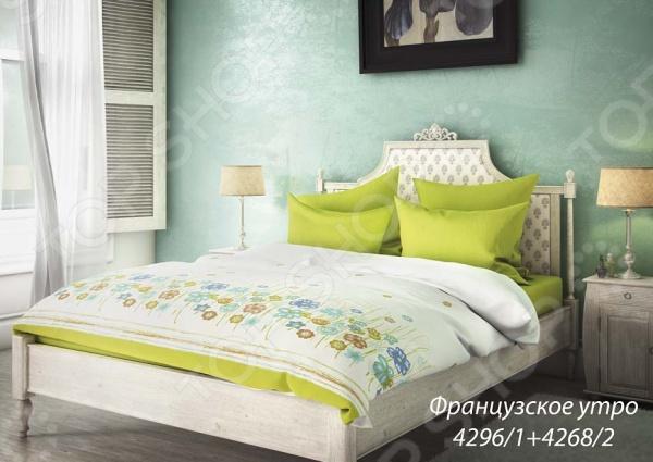 Комплект постельного белья Волшебная ночь «Французское утро». 2-спальный з комплект постельного белья quot французское утроquot волшебная ночь