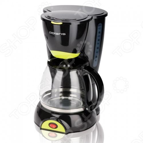 Кофеварка Polaris PCM 1211 кофеварка polaris pcm 1211 черный салатовый