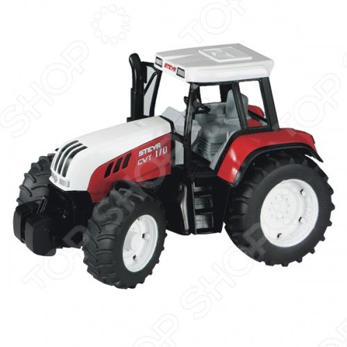 Трактор Bruder Steyr CVT 170 бу двигатель на трактор