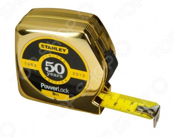 Рулетка Stanley STHT0-33353 Powerlock «золотая»
