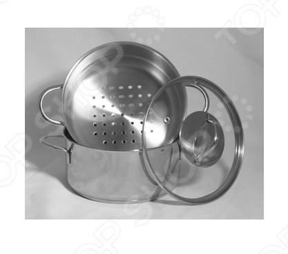 Пароварка Appetite Pretty выполнена из высококачественной нержавеющей стали. Appetite Pretty станет незаменимым помощником на вашей кухне. Она предназначена для приготовления здоровой пищи на пару. Такой способ приготовления продуктов сохраняет в них полезные витамины и минералы. Пароварка состоит из большой кастрюли, кастрюли с отверстиями и стеклянной крышки.