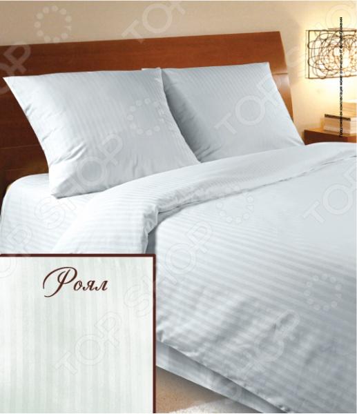 Комплект постельного белья Verossa Constante Royal Stripe. 1,5-спальный комплект белья verossa delis 1 5 спальный наволочки 70х70