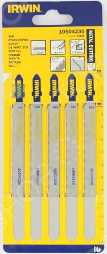 Пилки для электролобзика IRWIN T318A HSS имеют 3 вида угла заточки зубьев для быстрой и чистой работы. Быстрая и гладкая резка во всех видах древисины. В комплекте 5 штук- 132 мм, шаг 1.2мм.