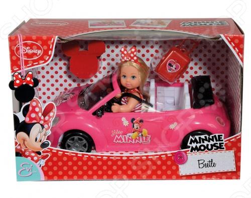 Кукла Еви с аксессуарами Simba Minnie Mouse утюг simba minnie mouse с водой 4735135