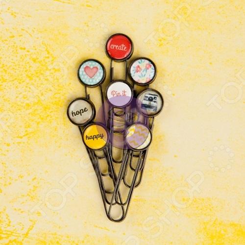 фото Декоративные скрепки Prima Marketing Bloom 573065, купить, цена