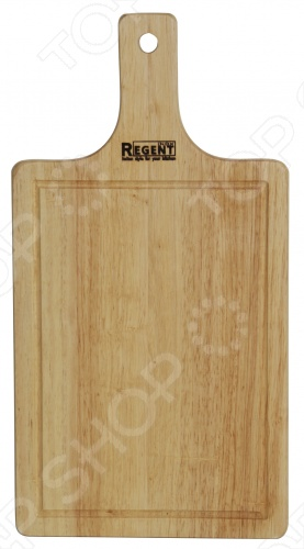 Доска разделочная с деревянной ручкой Regent 93-BO-1 доска для ограждения из дпк 1 9м gardendreams