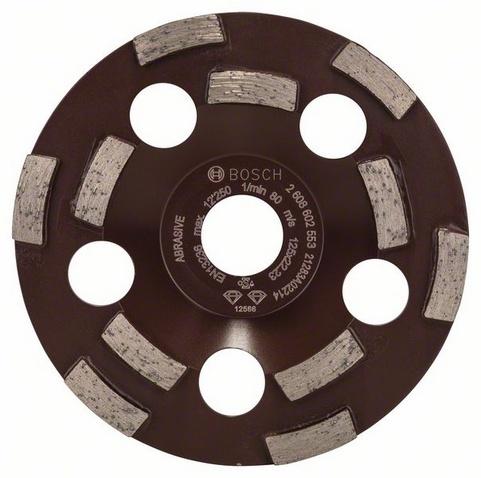 Круг шлифовальный алмазный Bosch Expert for Abrasive насадка для кухонного комбайна bosch muz8cc2