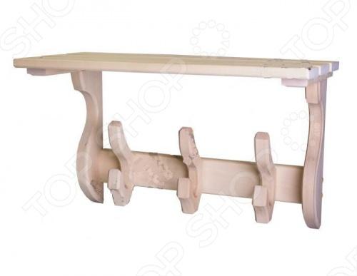 Полка-вешалка Банные штучки «Двойной крючок» вешалка coatrack 20х70х28