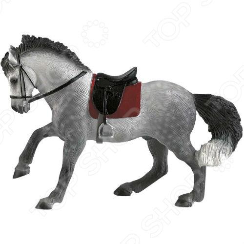 Фигурка-игрушка Bullyland Андалузский коньИгрушечные животные<br>Фигурка-игрушка Bullyland Андалузский конь отличный подарок не только для детей, но и взрослых. Качество исполнения и внимание к деталям делают это изделие замечательным как для игровых, так и коллекционных целей. Серия фигурок от Bullyland представлена многочисленными видами домашних и диких животных. Они выполнены в соответствии с производственными стандартами из нетоксичных материалов, поэтому безопасны для здоровья.<br>