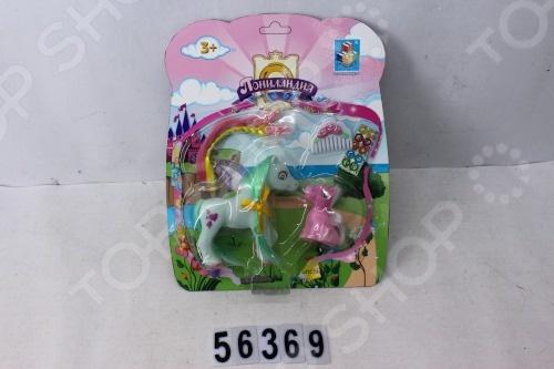 Набор игровой с пони 1 Toy «Пониландия» Набор игровой с пони 1 Toy «Пониландия» /
