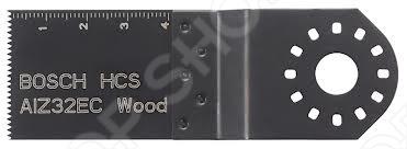 Полотно пильное погружное Bosch HCS AIZ 32 EC погружное пильное полотно bosch bim aiz 32 apb wood and metal 2 608 661 644