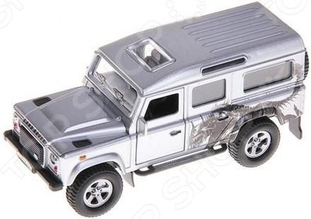 Landrover Defender Трансформер 1:43 Модель машины 1:43 Пламенный Мотор Land Rover Defender Трансформер