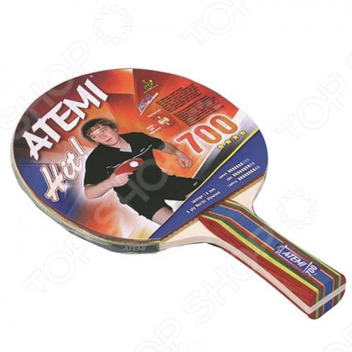 Ракетка для настольного тенниса Atemi 700 CV ракетка для настольного тенниса torneo tour plustable tennis bat ti b3000