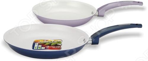 Набор из двух сковородок с керамическим покрытием Vitesse VS-2221