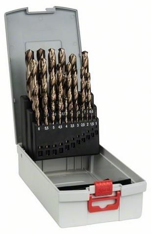 Набор сверл по металлу Bosch 2608587018 пилки для лобзика по металлу для прямых пропилов bosch t118a 1 3 мм 5 шт