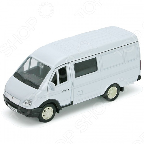Модель автомобиля 1:34-39 Welly Газель «Фургон с окном». В ассортиментеМодели авто<br>Товар продается в ассортименте. Цвет изделия при комплектации заказа зависит от наличия цветового ассортимента товара на складе. Модель 1:34-39 Газель Фургон с окном представляет собой точную копию настоящего автомобиля. Коллекционная модель выпущена известной компанией по производству игрушек Welly. Особенность коллекции в том, что все модели изготовлены по лицензии именитых автопроизводителей. Машинка изготовлена из металла с элементами пластика. У нее инерционный механизм, открываются двери. Модель 1:34-39 Газель Фургон с окном является отличным подарком не только ребенку, но и коллекционеру.<br>