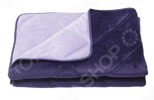 Фото Одеяло декоративное Dormeo Trend Blanket. Размер: 140х200 см. Цвет: фиолетовый, сиреневый
