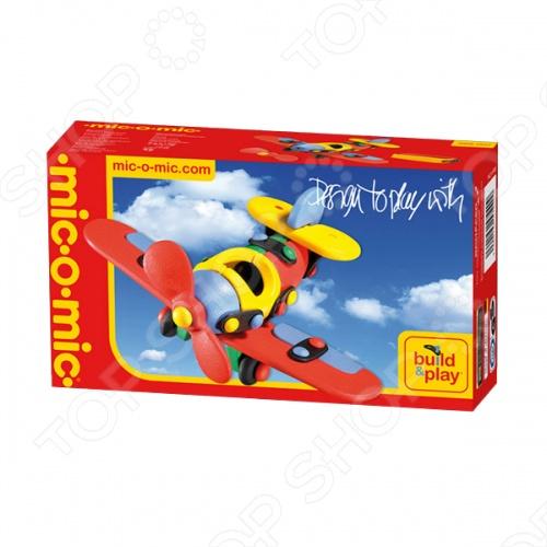 Конструктор игровой Mic-o-mic Самолет обязательно понравится деткам. При помощи конструктора Mic-o-Mic Самолёт малый ваш ребенок сможет почувствовать себя настоящим конструктором самолетов. В комплект входят различные пластиковые элементы конструкции, пластины и крепежные детали в виде миниатюрных кнопок. Сборка осуществляется с помощью специального инструмента. В наборе: 18 конструктивных элементов, 13 пластин, 26 кнопок. Игрушка выполнена из качественных материалов, которые не вызывают аллергии.