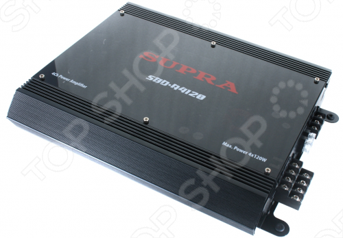 Автоусилитель Supra SBD-A4120 усилитель supra sbd a4120 4 x