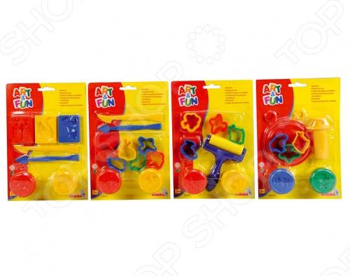 Пластилин с формочками Simba 6324279. В ассортименте