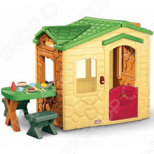 фото Домик игровой Little Tikes «Пикник» 170621, Игровые домики. Горки. Качели