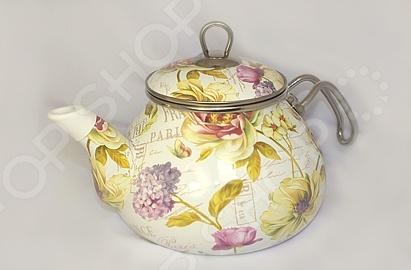 Чайник эмалированный Interos «Франция» Interos - артикул: 407879