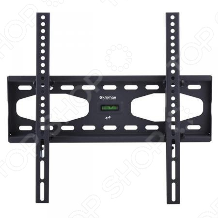 Кронштейн для телевизора Kromax STAR-44Кронштейны для телевизоров<br>Настенный кронштейн KROMAX STAR-44 для ЖК LCD телевизоров и плазменных панелей с регулируемым наклоном и расстоянием от стены 65 мм. Максимальные посадочные отверстия по горизонтали - 400 мм, по вертикали - 400 мм.<br>