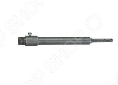Удлинитель с хвостовиком для коронок кольцевых по бетону FIT SDS PLUS изготовлен из легированной инструментальной стали. Удлинитель предназначен для кольцевых коронок по бетону. Посадка резьбовая.