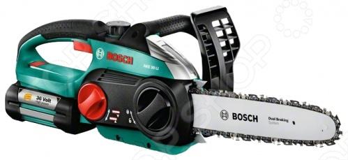 Пила цепная аккумуляторная Bosch AKE 30 LI пила дисковая bosch gks 55 g 601682000