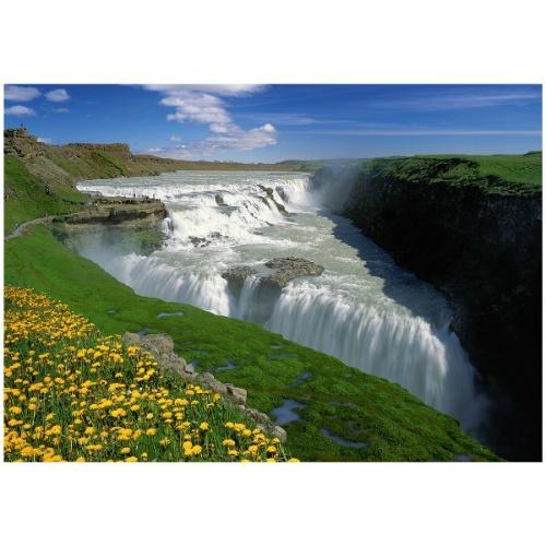 Пазл 1000 элементов Trefl «Золотой водопад»