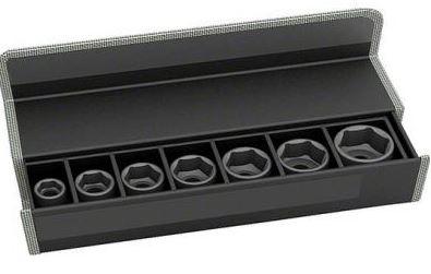 Набор головок для торцевых ключей Bosch 2608551104  набор сменных головок и насадок topex 38d669