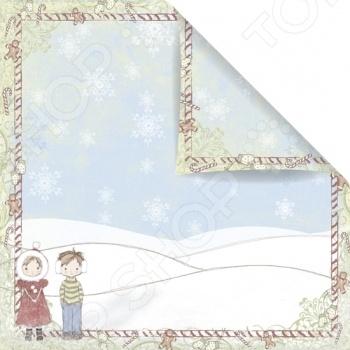фото Бумага для скрапбукинга двусторонняя Prima Marketing Season Greetings, купить, цена
