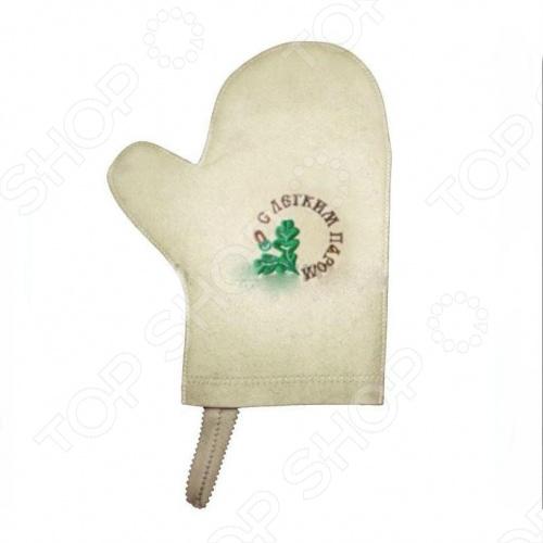 Рукавица для сауны Банные штучки «С легким паром!» 3 рукавицы банные gilbear из 100% хлопка