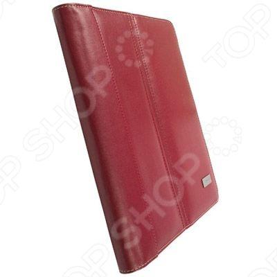 Чехол-книжка Krusell Luna для iPad предоставит вам возможность защитить свой планшет от повреждений и закрепить его в удобном для вас положении. Чехол открывается в трех различных положениях, что позволяет выполнять просмотр под разными углами. Стильный и одновременно эргономичный дизайн.