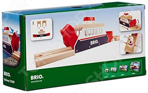 Паром со световыми и звуковыми эффектами Brio 33569 модуль со световыми и звуковыми эффектами bruder 02 801