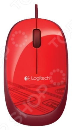 купить Мышь Logitech M105 Red USB недорого