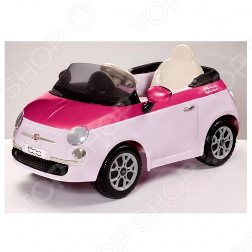Машина детская электрическая Peg-Perego FIAT 500 Машина детская электрическая Peg-Perego FIAT 500 /Розовый