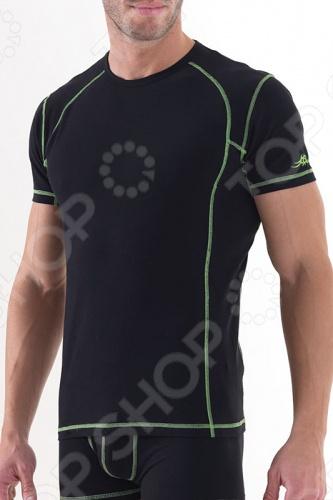Футболка BlackSpade 9410 для мужчин. Вещь на 92 состоит из хлопка, что позволяет коже дышать. Материал приятно облегает тело. Эта модель входит в коллекцию Sport и рассчитана на людей, которые любят носить спортивную одежду. Отличный вариант для ежедневного использования в теплое и жаркое время года.