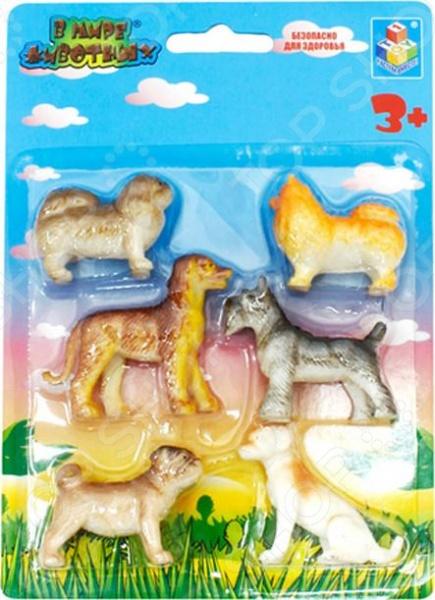 Фигурки животных 1toy «В мире животных. Собаки» Т53831