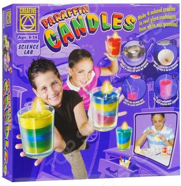 Набор для изготовления свечей Creative 5674 набор для творчества creative creative набор для творчества дизайнерские свечи стаканчики
