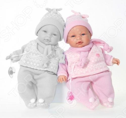 Кукла Munecas Antonio Juan «Пио в розовом» juan antonio пупс габи розовом костюме