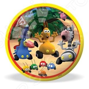 Мяч Mondo «Перекресток в джунглях». В ассортиментеМячи детские<br>Товар продается в ассортименте. Вид изделия при комплектации заказа зависит от наличия товарного ассортимента на складе. Мяч Mondo Перекресток в джунглях отличная вещь для активного отдыха на улице. С этим мячиком ребенок будет проводить время весело и с пользой для здоровья, развивая ловкость и координацию движений. Яркое оформление изделия привлечет внимание остальных детей на игровой площадке. Изготовлен из материалов высокого качества с соблюдением технологических процессов производства.<br>