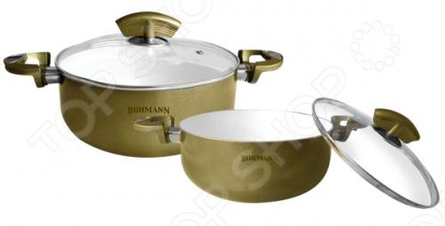 Набор кухонной посуды Bohmann BH-6002WCR