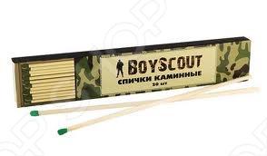 Спички каминные Boyscout 61030 спички колумб 80мм 20шт boyscout 61033
